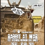 Rabbit at War goes to Wacken!