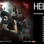 Hell-O-Matic on Tour mit Megaherz