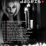 DAGEIST auf Europatour